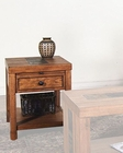 Sunny Designs Walnut Creek End Table SU-3215RWW-E