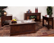 Sunny Designs Woodland Occasional Table Set SU-3228DTs