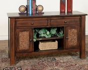 Sunny Designs Woodland Sofa/ Console Table SU-3228DT-S