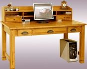 Sunny Designs Writing/Computer Desk & Hutch SU-2865RO/2865RO-H