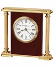 Table Clock Rosewood Encore Bracket by Howard Miller HM-645104