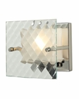 ELK Talmage Collection 1 light bath in Brushed Nickel EK-31415-1