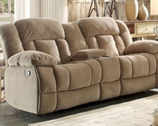 Taupe Reclining Loveseat Laurelton by Homelegance EL-9636NF-2
