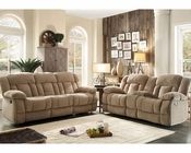 Taupe Reclining Sofa Set Laurelton by Homelegance EL-9636NF-SET