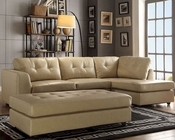 Taupe Sectional Sofa Set Springer by Homelegance EL-9688TP-SET