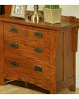 Three-Drawer Nightstand HeArtland Manor by Ayca AY-18-0661