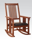 Tobacco Finish Rocking Chair by Acme Furniture AC59214