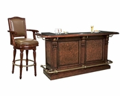 Traditional Bar Set Cheers by Howard Miller HM-693-027-SET