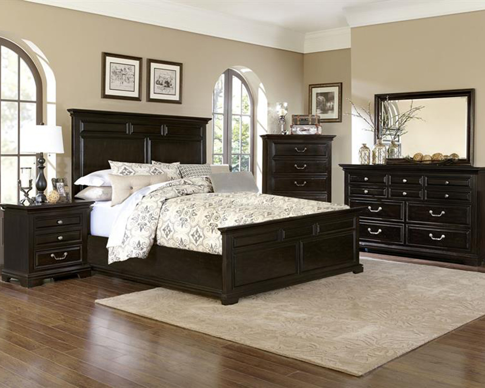 Traditional bedroom set abernathy by magnussen mg b2564 54set for Traditional bedroom furniture