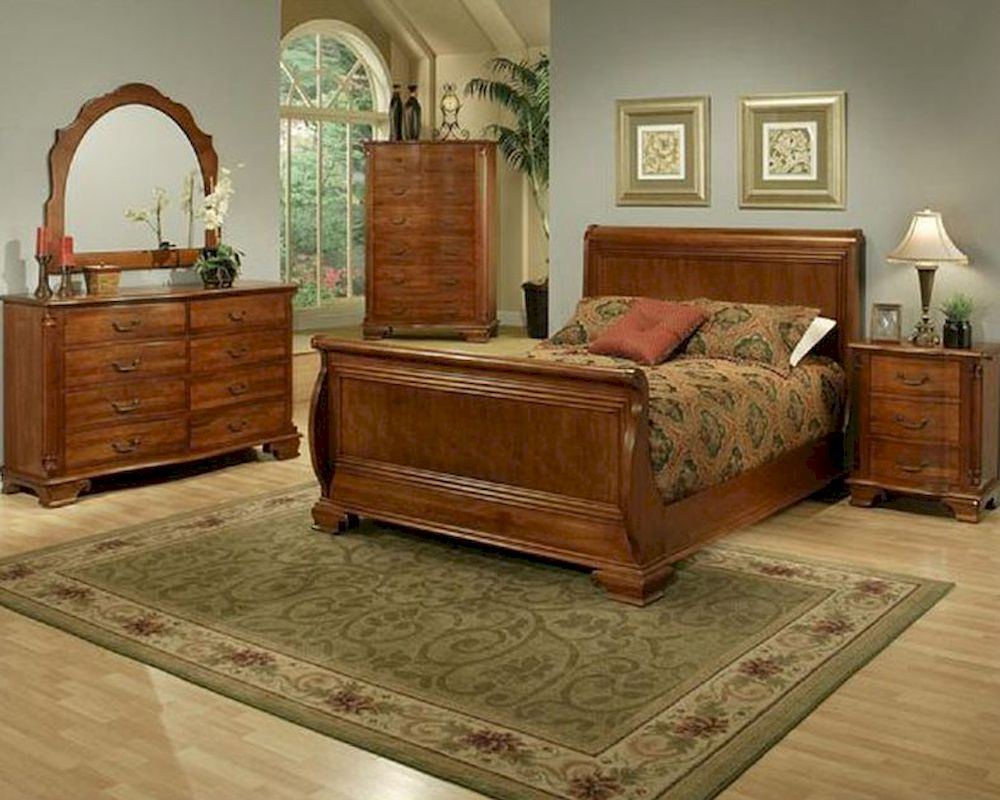 Traditional Bedroom Set American Heritage By Ayca Ay 1212set