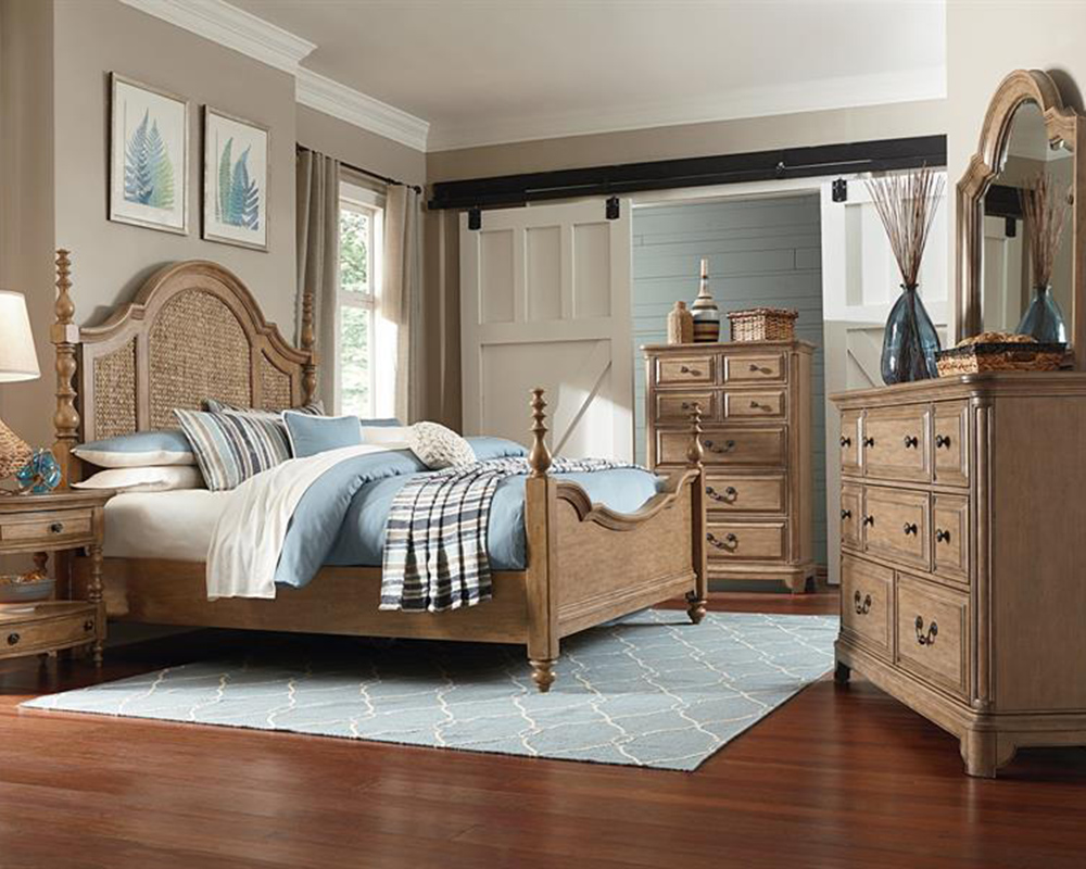 Traditional bedroom set cloverton cove by magnussen mg for Traditional home bedrooms