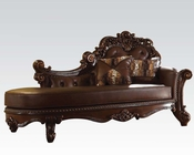 Traditional Chaise Vendome Cherry by Acme Furniture AC96491