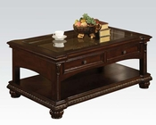 Traditional Coffee Table in Cherry Anondale by Acme Furniture AC10322