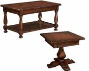 Traditional Coffee Table Set Havana by Hekman HE-81228-SET