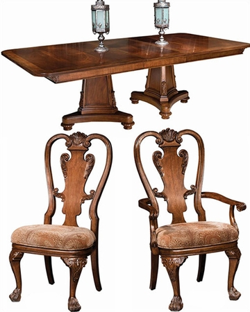 Traditional Dining Set New Orleans By Hekman HE 11320 SET