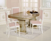 Traditional Dining Table in Beige Finish 44DBG-DIN-TB