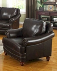 Traditional Leather Chair MO-BOLC