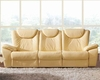 Traditional Leather Sofa in Beige Color ESF33S
