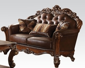 Traditional Loveseat Vendome Cherry by Acme Furniture AC52002
