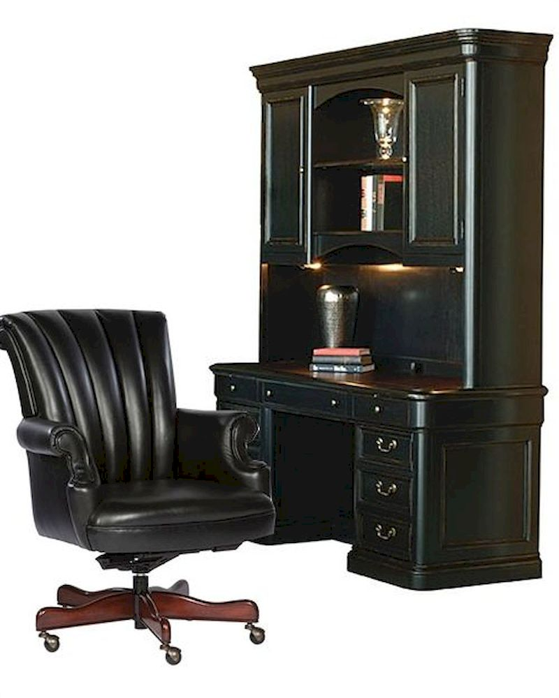 traditional office set louis phillippe by hekman he 79141 set