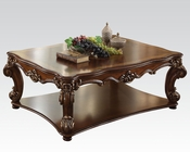 Traditional Rectangular Coffee Table Vendome Cherry by Acme AC82000