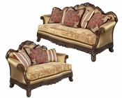 Traditional Sofa Set Ornella by Benetti's BTOR325SET