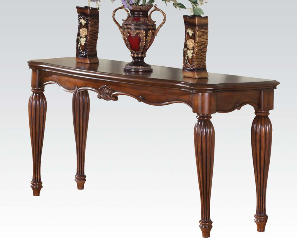 Traditional sofa table dreena by acme furniture ac10292 geotapseo Gallery