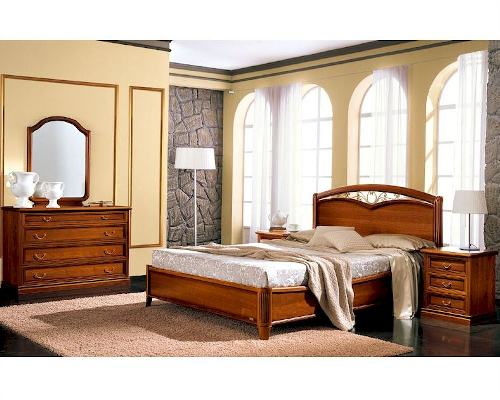 Traditional style bedroom set classic made in italy 33b491 for Classic traditional furniture
