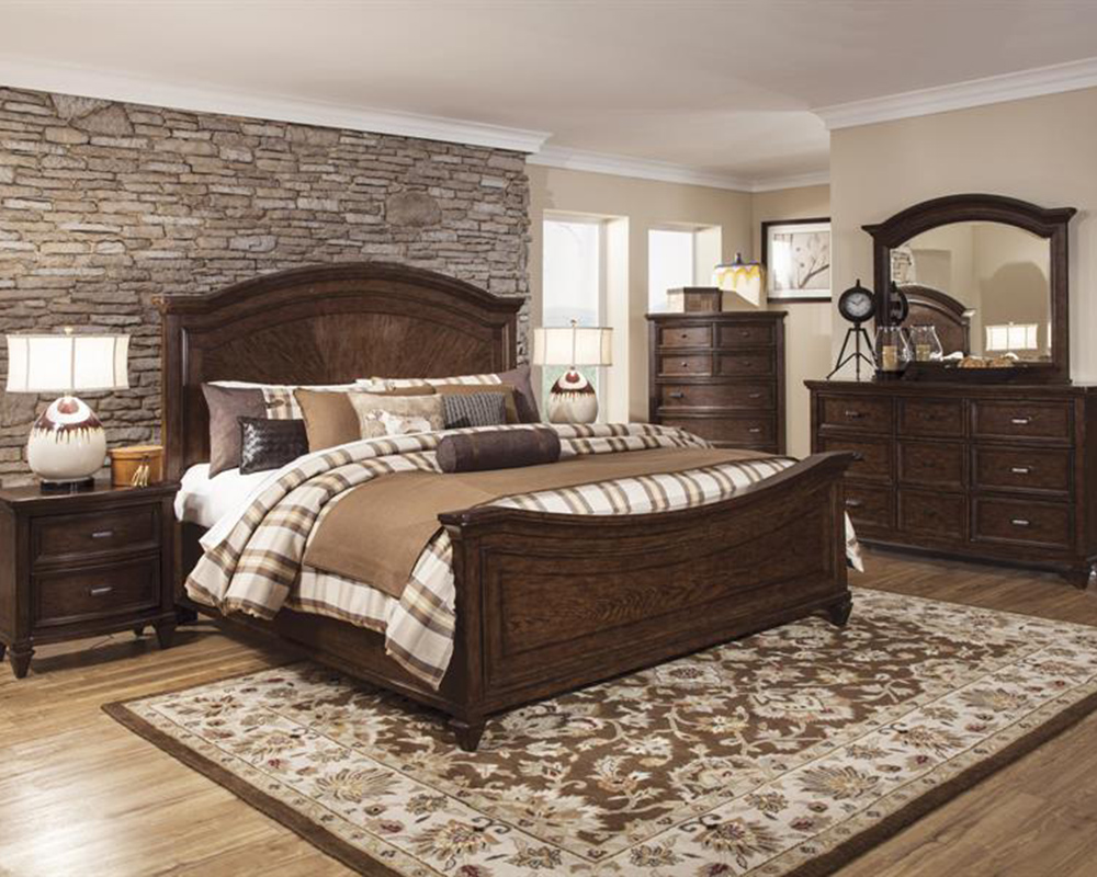 Transitional bedroom set halton park by magnussen mg b3033 for Transitional bedroom furniture