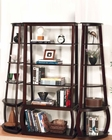 Transitional Bookcase and Corner Bookcases CO80023