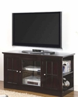 Transitional Media Console with Glass Door Fullerton CO700657