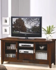 Transitional Media Cosole with Doors and Shelves CO700619