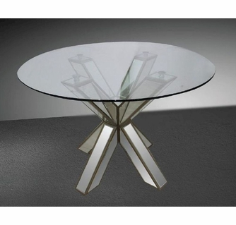 Mirrored Gl Dining Table Design Ideas