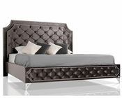 Transitional Tufted Fabric Bed without Crystals 44B147BD