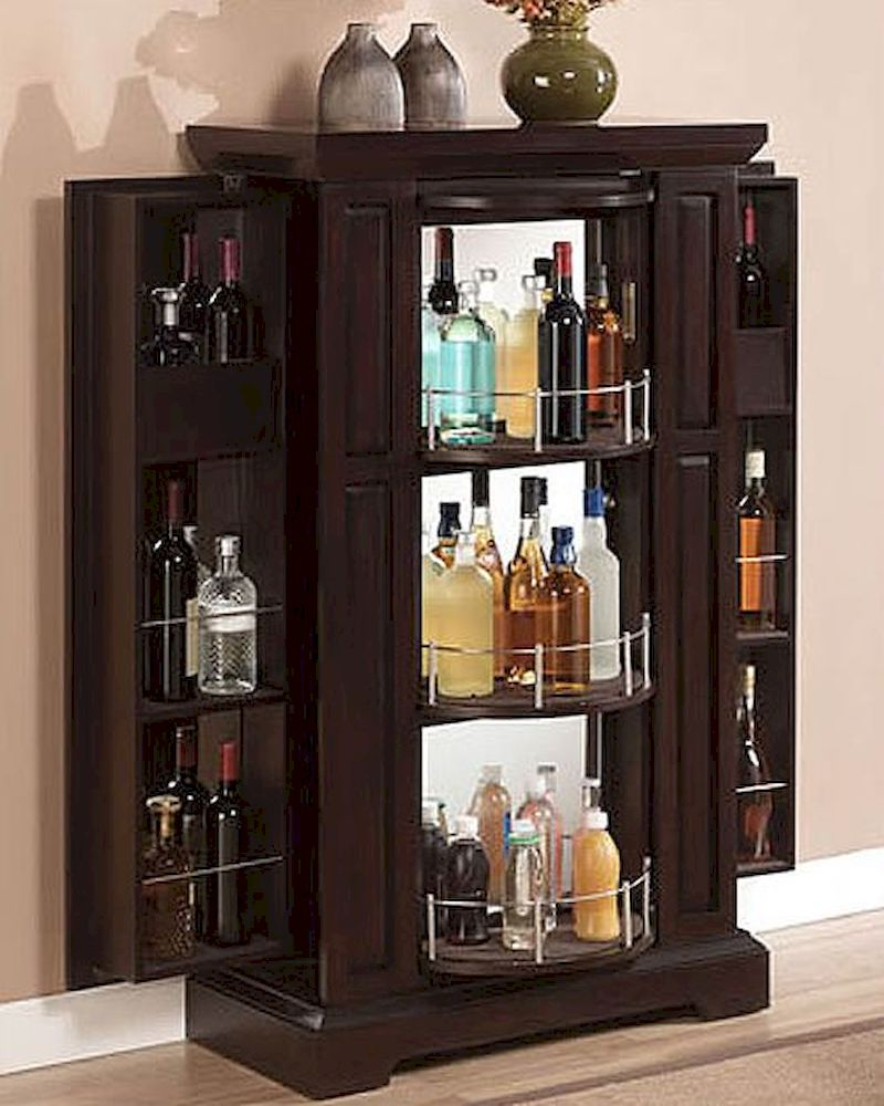 Tresanti bar cabinet metro ts bc2426 e451 31 - Bar cabinets for home ...