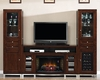 Tresanti Entertainment Center w/Wine & Beverage Cooler TS-6439-C247S4