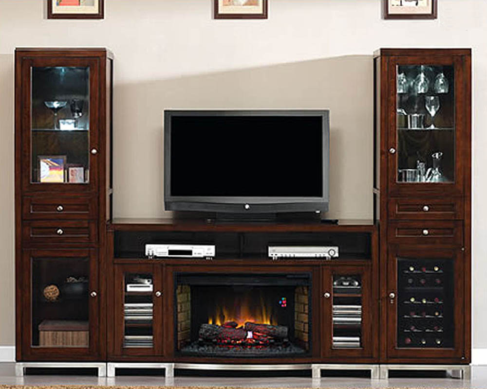 entertainment center w wine cooler wesleyan ts 6439 c247s2