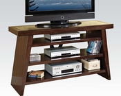 TV Console in Brown Cherry by Acme Furniture AC91082