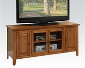 TV Stand in Oak in Contemporary Style by Acme Furniture AC10342