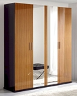 Two Tone 4 Door Wardrobe 33B198