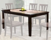 Two Tone Dining Table in Cappuccino MO-6092TB