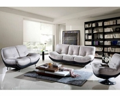 Two Tone Leather Sofa Set European Design 33SS251