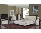 Two Tone Modern Bedroom Set Nora 35B71