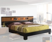 Two Tone Platform Bed 33B192