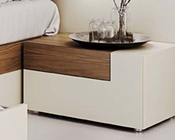 Two Tone Right Night Stand in Modern Style Elena 33171EL