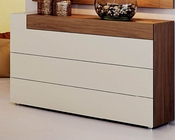 Two Tone Single Dresser in Modern Style Elena 33150EL