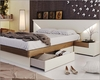 Two Tone Storage Bed in Modern Style Elena 33141EL