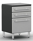 Ulti-MATE Garage PRO 3-Drawer Base Cabinet GA-04PC