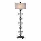 Uttermost Adelardo Rust Bronze Floor Lamp