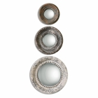 Uttermost Adelfia Round Mirrors set of 3